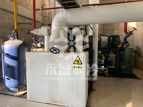 山东蓝润水产有限公司海产品-20度冷藏库